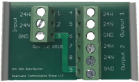 2 Channel Power Distribution Board
